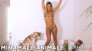 Repeat youtube video SEXY BARELY THERE SWIMWEAR: MINIMALE ANIMALE