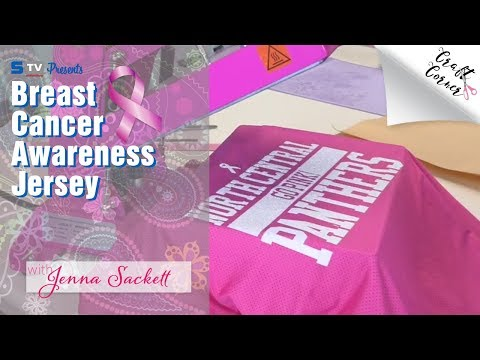 Breast Cancer Awareness Jersey | Craft Corner