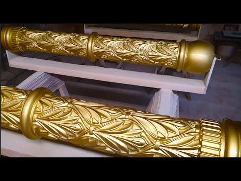 Золотые колонны