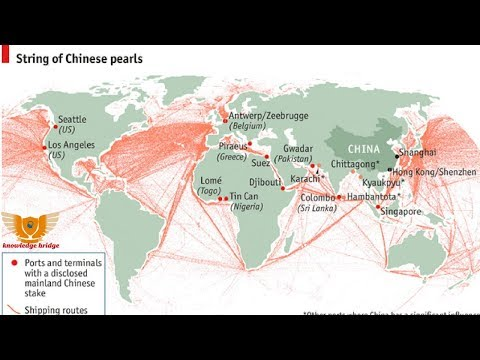 string of pearls | China's intention on Indian ocean