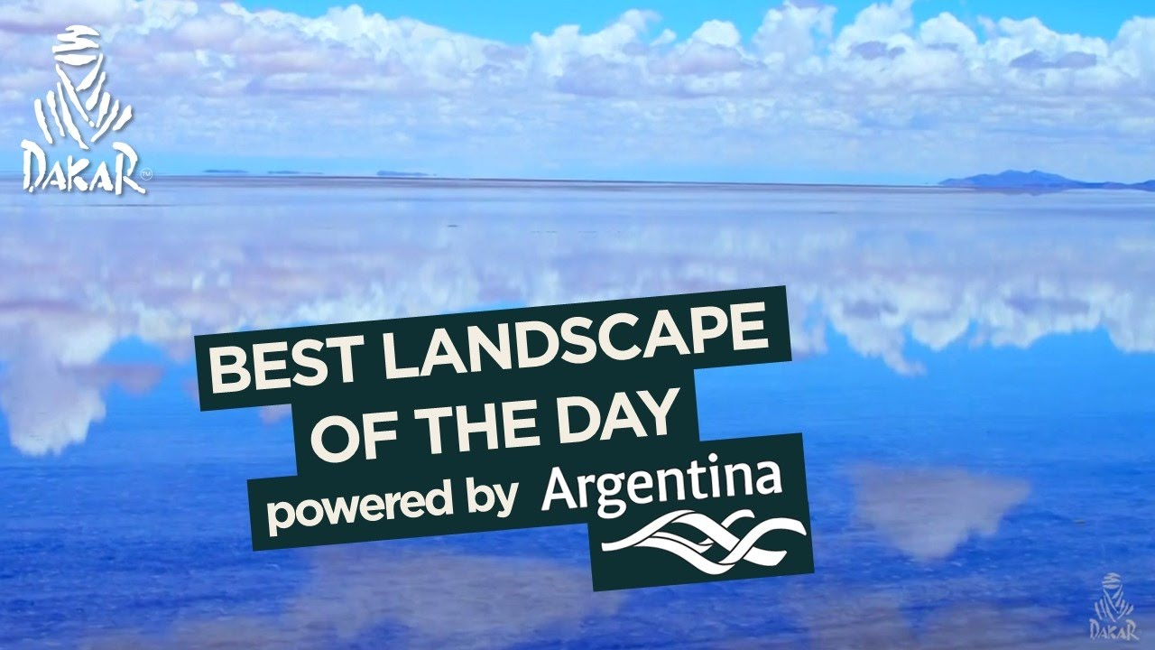 Stage 8 - Landscape of the day; powered by Argentina