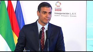 Sánchez augura que el AVE llevará más empleo y turismo a Granada