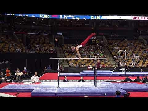 Anthony Stephenson - Parallel Bars – 2018 U.S. Gymnastics Championships – Senior Men Day 1