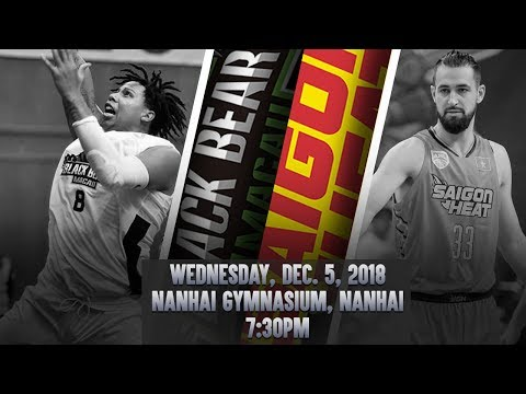 Macau Black Bears v Saigon Heat | FULL GAME | 2018-2019 ASEAN Basketball League