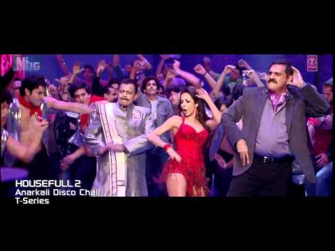 Anarkali Disco Chali with Lyrics Housefull 2 | Full HD Music Video