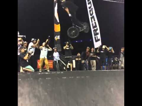 Mike Varga   1260 Attempt   kylecarlson   BMX Vide0