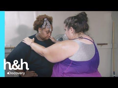 Mujeres grandes ensayan para bailar en el evento de verano - Gran-Diosa l Discovery Channel
