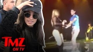 The Fifth Harmony Chicks Get Beefy | TMZ TV