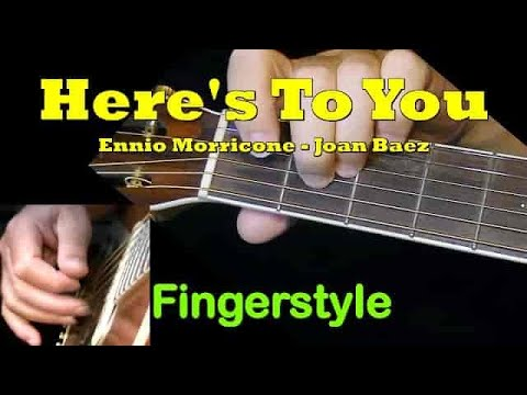 HERE'S TO YOU: Fingerstyle Guitar Lesson + TAB by GuitarNick