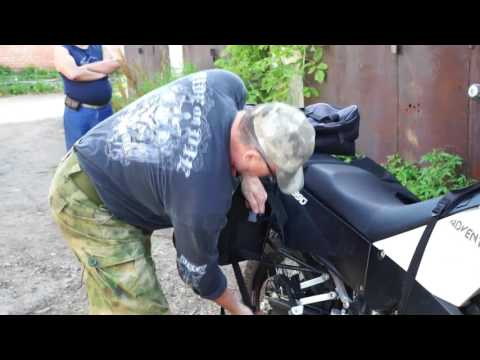 Как крепить сумки Торба к мотоциклу