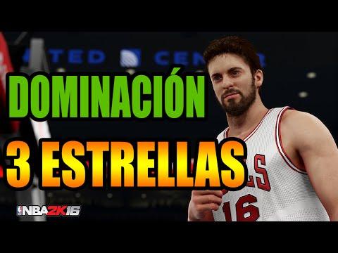 NBA 2K16 - Tutorial Dominación | 3 Estrellas