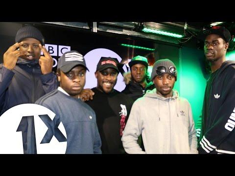 Kenny Allstar w Abra Cadabra & Ounto Nation on BBC Radio 1Xtra