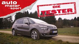 Citroën Grand C4 Picasso: Raumwunder - Die Tester   auto motor und sport