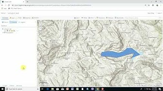 How to create feature layers in Arcgis Online