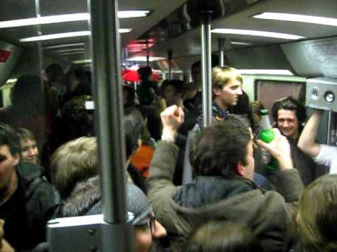 S-Bahn Party -- Berlin -- 29 Jan 2011