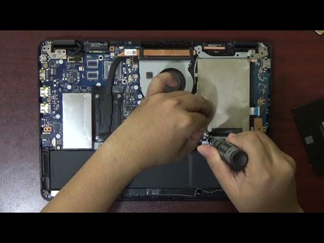 UPGRADE RAM & SSD ASUS VIVOBOOK FLIP TP301U