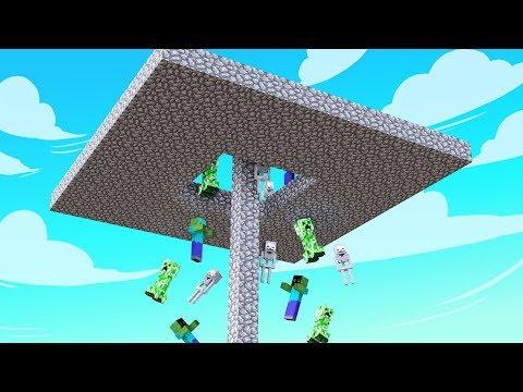 🐢 How to make a Skyblock Mob Dropper 1.14.4 Tutorial ( Mob Grinder / Dropper / Loot Farm )