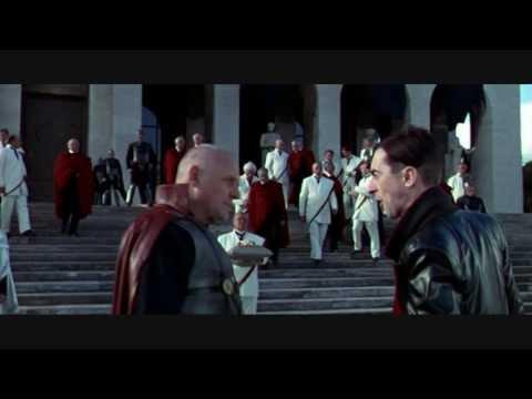 Дворец итальянской цивилизации в фильме Тит - правитель Рима (Titus) 1999