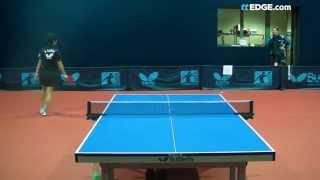 Самая быстрая подача в настольном теннисе от Asuka Sakai