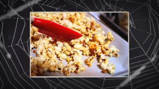 How to Make Halloween Pop Corn Balls