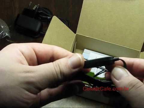 Tirando da caixa: Samsung E1107 Solar