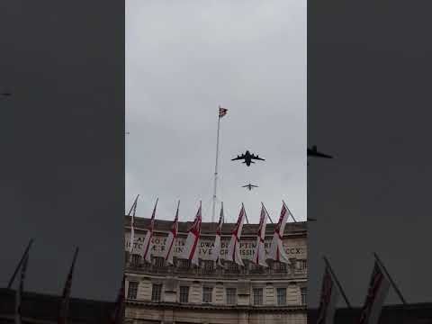 RAF 100 Flypast, The Mall, London 10/7/2018