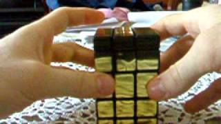 Custom GOLDEN MIRROR TOWER NOW ON EBAY - Rubik