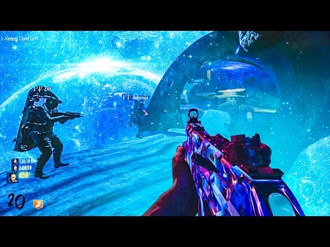 ZOMBIES IN SPACE?! - Black Ops 3 Custom Zombies Mods