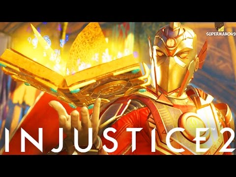 "THE POWER OF DOCTOR FATE WITH EPIC GEAR!! - Injustice 2 ""Dr Fate"" Gameplay (Online Ranked)"