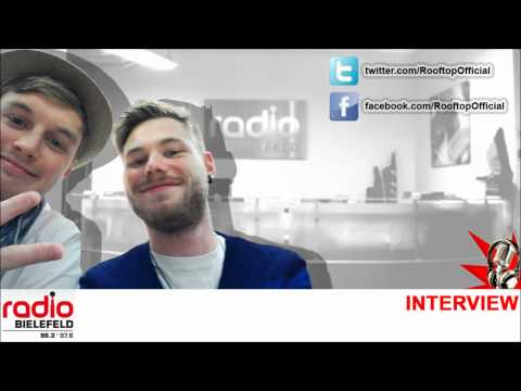 Rooftop bei Radio Bielefeld - Interview
