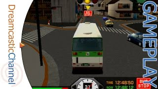 Tokyo Bus Guide Gameplay (Dreamcast) | HD