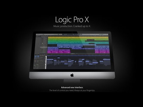 Logic Pro X is Here