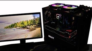 ryzen 7 3700X Bare Bone PC Build / NZXT Manta