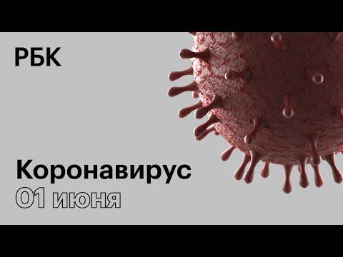 Последние новости о коронавирусе в России. 01 Июня (01.06.2020). Коронавирус в Москве сегодня