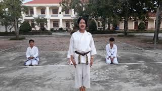 Hướng dẫn tập bài quyền số 1 karatedo  - Taikyuku Shodan hệ phái Shotokan