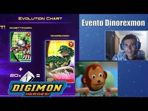Digimon Heroes! - Evento = Dinorexmon
