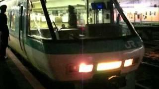 381系特急 スーパーくろしお 和歌山行き 天王寺駅到着から発車まで