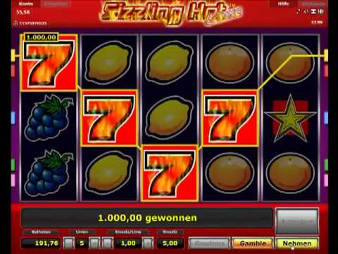 online casino spielen sizzling hot games
