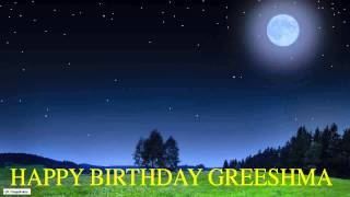 Greeshma  Moon La Luna - Happy Birthday