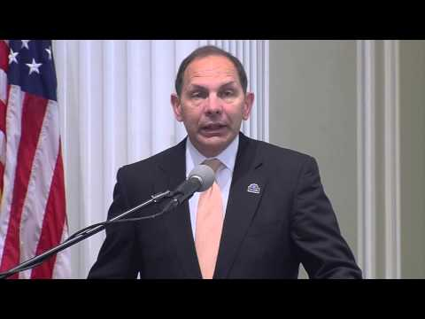 Secretary of VA Robert McDonald Addresses 2015 Philanthropy-Joining Forces Impact Pledge