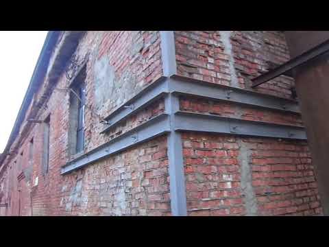 Ошибки усиления стены или как не нужно выполнять усиление.
