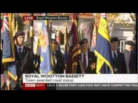 Letters Patent Ceremony Royal Wootton Bassett HRH The Princess Royal