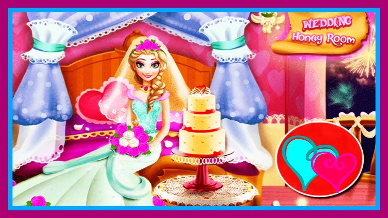 Disney Frozen Elsa Wedding Honey Room Cute Decoration