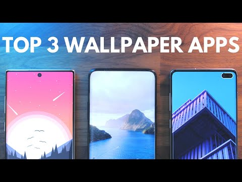 Top 3 Wallpaper Apps V8.0!