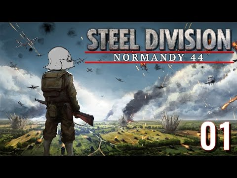 12. SS Panzer - STEEL DIVISION NORMANDY 44 - Beta #1 [Gameplay/deutsch/german]