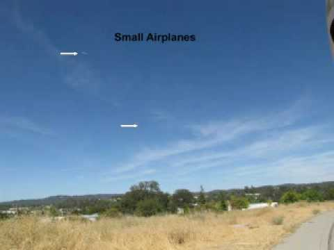 UFO images from the Sacramento UFO Examiner using our camera