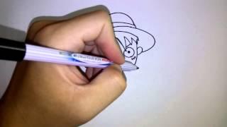สอนวาดรูป การ์ตูน ลูฟี่ วันพีช