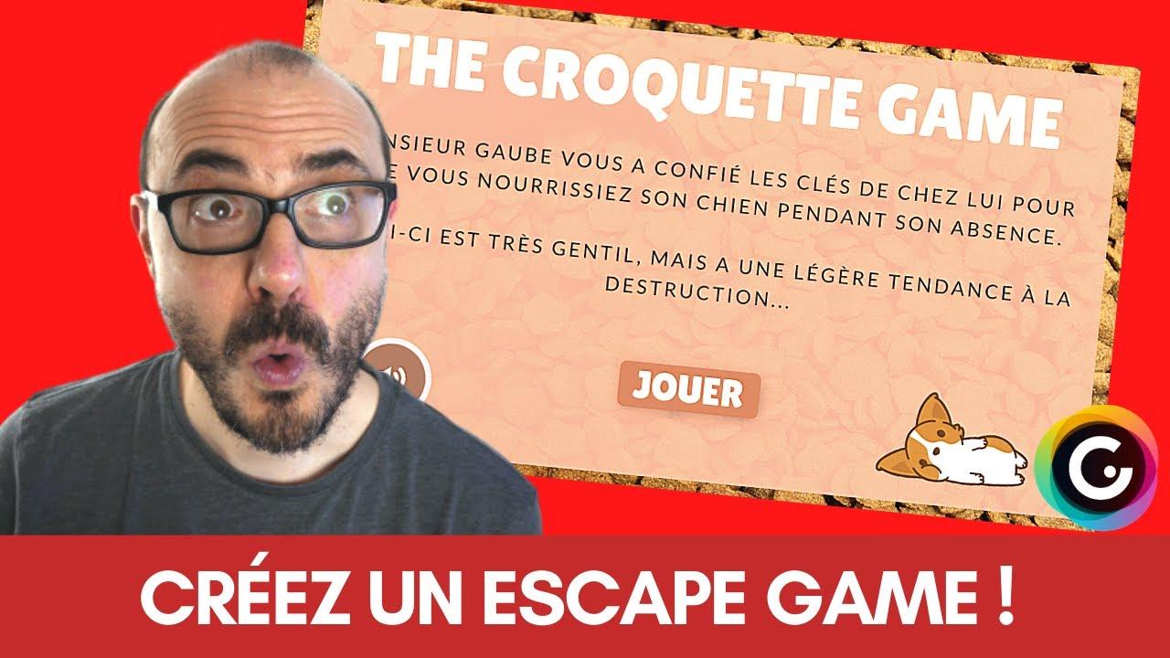 TUTO ESCAPE GAME GENIALLY - Je crée un ESCAPE GAME sous GENIALLY