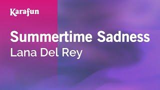 Karaoke Summertime Sadness - Lana Del Rey *