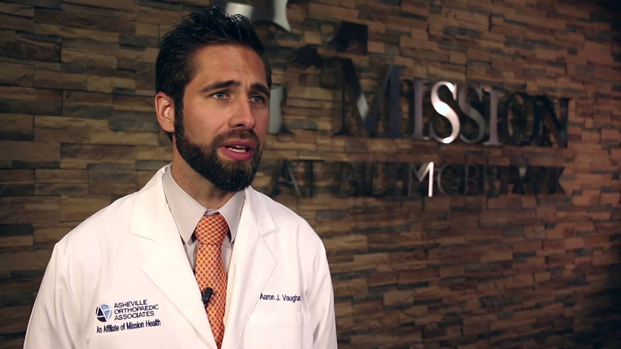 Meet Aaron Vaughan Md Primary Care Sports Medicine Youtube